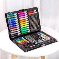 Children Art Markers Painting Art Set Colored Pencils Water Color Pens Crayon Oil Pastel Paint Brush