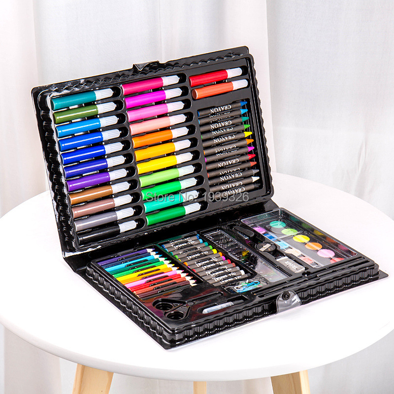children art markers painting art set colored pencils water color pens crayon oil pastel paint brush art school drawing tool suicide squad vol 5 apokolips now