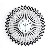GeekCook Creative Wall Clock Modern Design Living Room/Bedroom Mute Wall Watch Digital Clocks Wall Home Decor Metal Wall Clocks