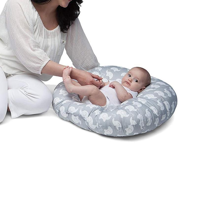 Newborn Baby Portable Cot Crib Removable Baby Bed Mat Cradle Thicken Baby Nursing Multifunction Crib YBD016