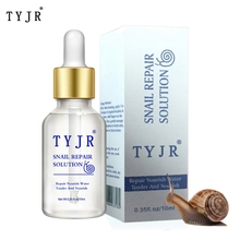 Snail Extract Serum Face Essence Anti Wrinkle Hyaluronic Acid Anti Aging Collagen Whitening Moisturizing Face Care anti wrinkle anti aging moisturizing serum acne treatment whitening face ageless beauty skin care argan collagen elastin serum