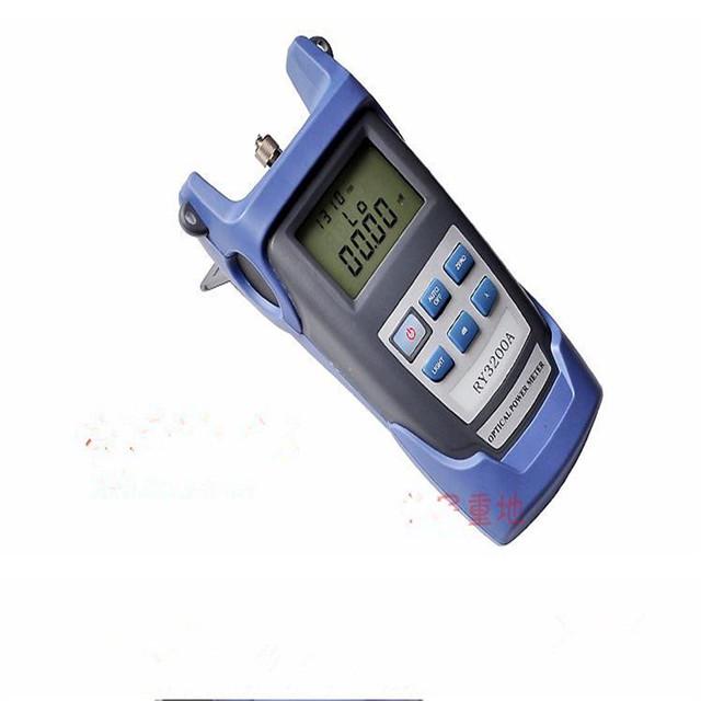 NUEVA Ajustable Portátil Medidor de Potencia Óptica Cable Tester de Redes De Fibra Óptica FC/SC conectores-70 ~ + 10 o-50 ~ + 26