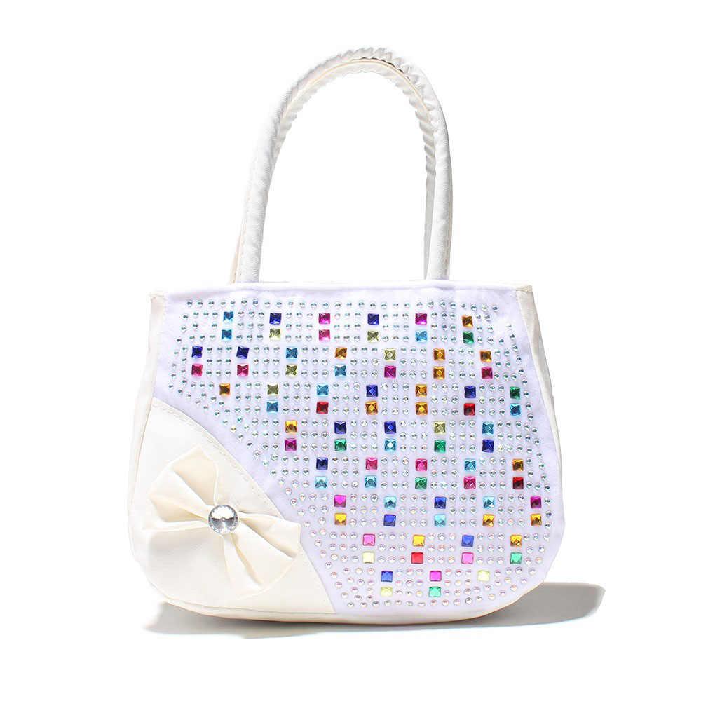 new children handbag kids tote Hot Selling Kids Girls Fashion Handbags Children  Shoulder Zipper Party Messenger
