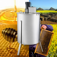 Free shipping for EU 4 FRAME ELECTRIC HONEY EXTRACTOR Brand New Large Four 4 Frame Stainless Steel Electric Honey Extractor