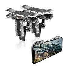 Mobile Game Controller-Sensitive Shoot, Transparent Aim Keys L1R1 Shooter Joysticks Aim Buttons & Cell Phone Game Controller f