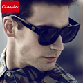High Quality Square Sunglasses Men Brand Designer Classic Driving Outdoor Mirror Sunglass Male Sun Glasses For Men Sunglass 2017