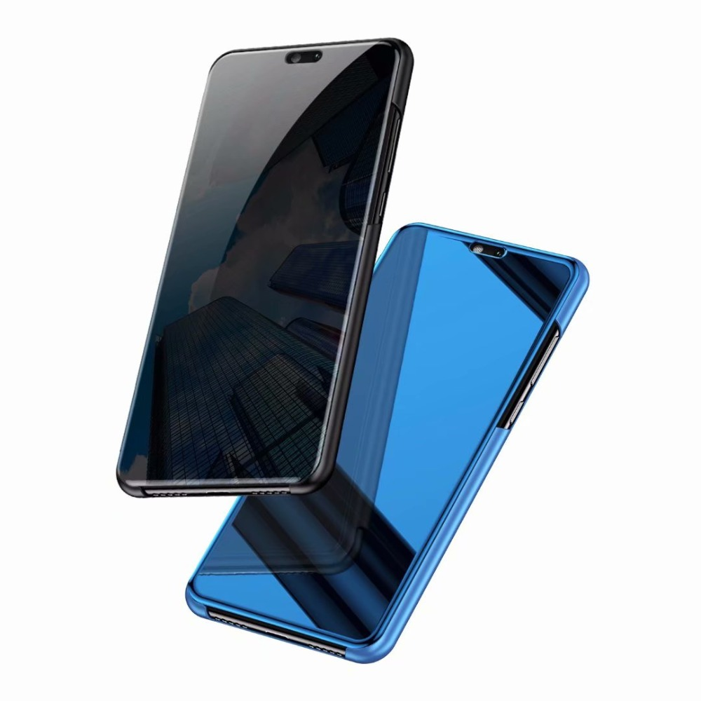 Clear-View-Mirror-Flip-PC-Phone-Case-for-Huawei-P20-P10-mate-20-lite-P-Smart (3)
