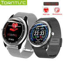 Torntisc N58 ECG PPG Smart watch men women electrocardiograph display holter ecg blood pressure monitor heart rate smartwatch(China)