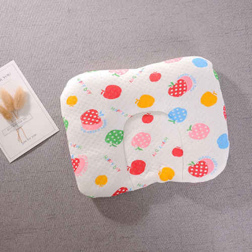 Infantil bebê recém-nascido travesseiro memória espuma positioner evitar cabeça plana anti rolo