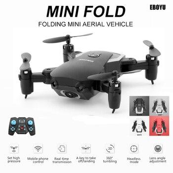 цена на LiDiRC A808 Gesture Photo Taking Foldable Mini RC Quadcopter Drone 720P Camera Wifi FPV Drone Altitude Hold Headless Mode RTF