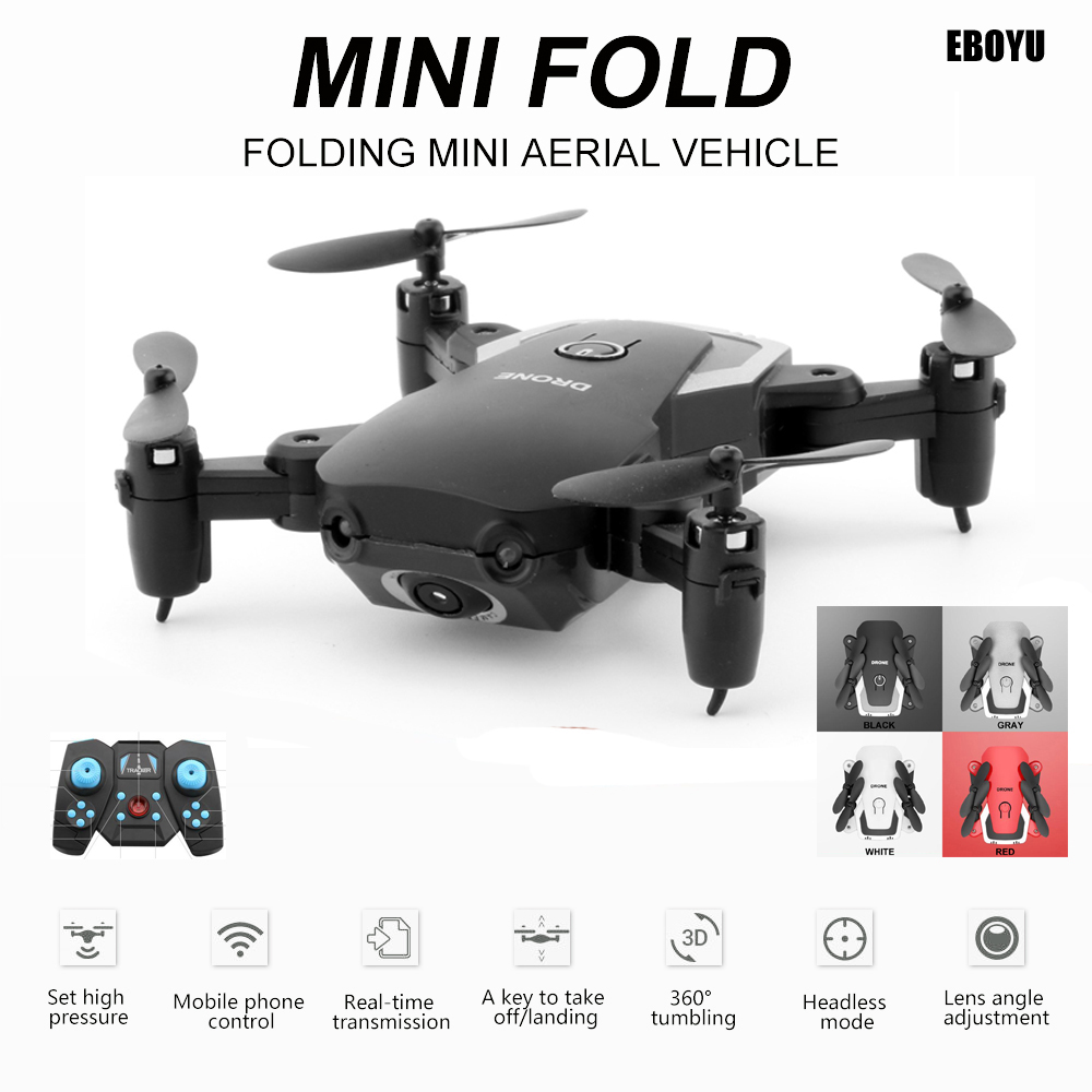 LiDiRC A808 Gesture Photo Taking Foldable Mini RC Quadcopter Drone 720P Camera Wifi FPV Drone Altitude Hold Headless Mode RTF image