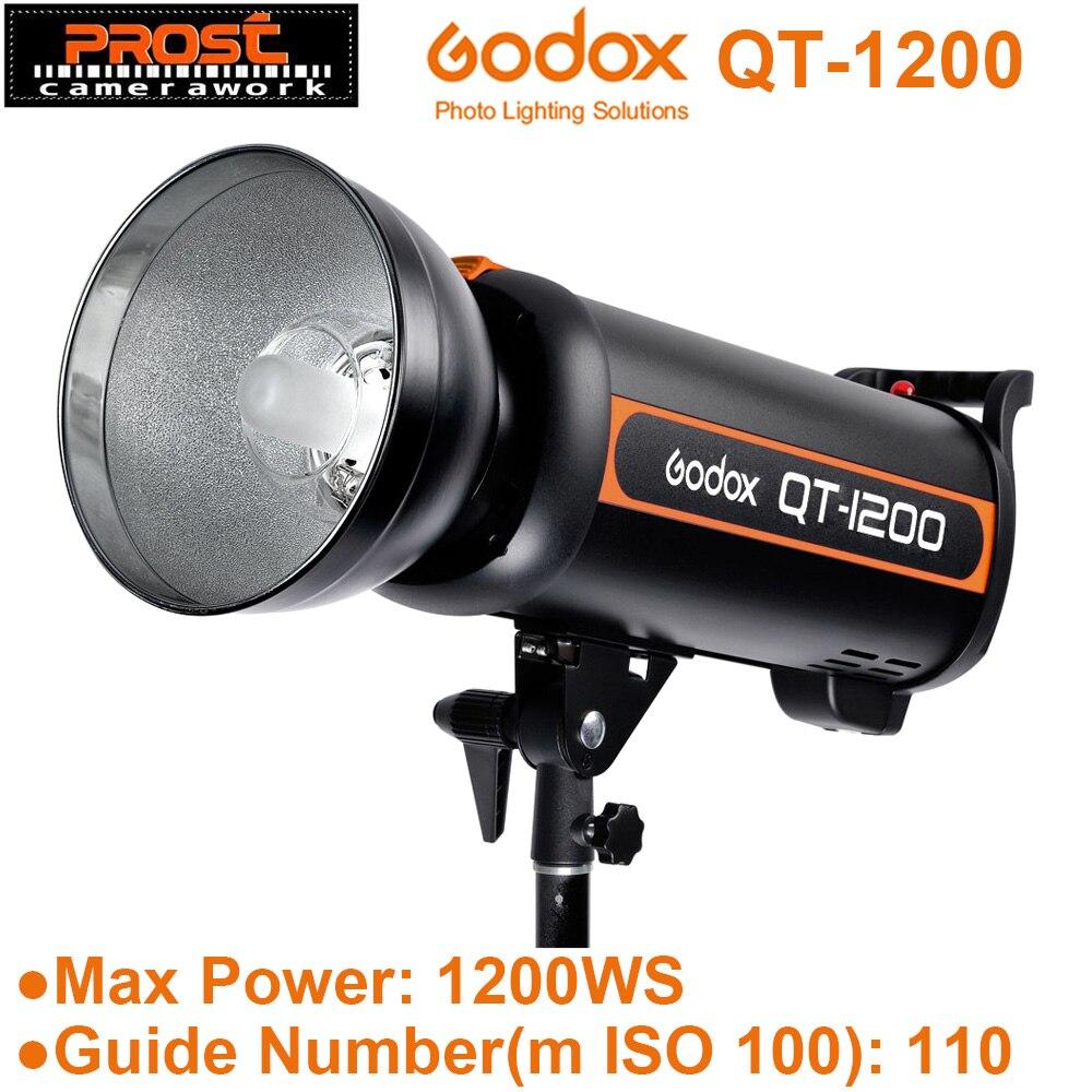 Original Godox QT-1200 QT1200 1200Ws Studio Strobe Photo Flash Light for Portrait Fashion Wedding Art Photography AC220V 1200W