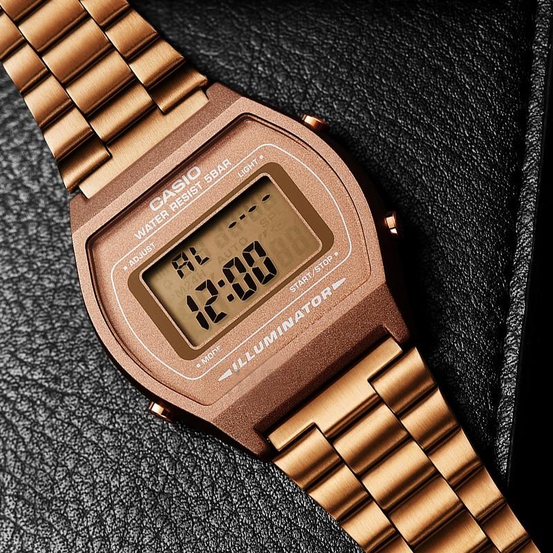 Image 2 - Casio watch Rose gold watch men set brand luxury LED digital Waterproof Quartz men watch Sport military Watch relogio masculino-in Quartz Watches from Watches