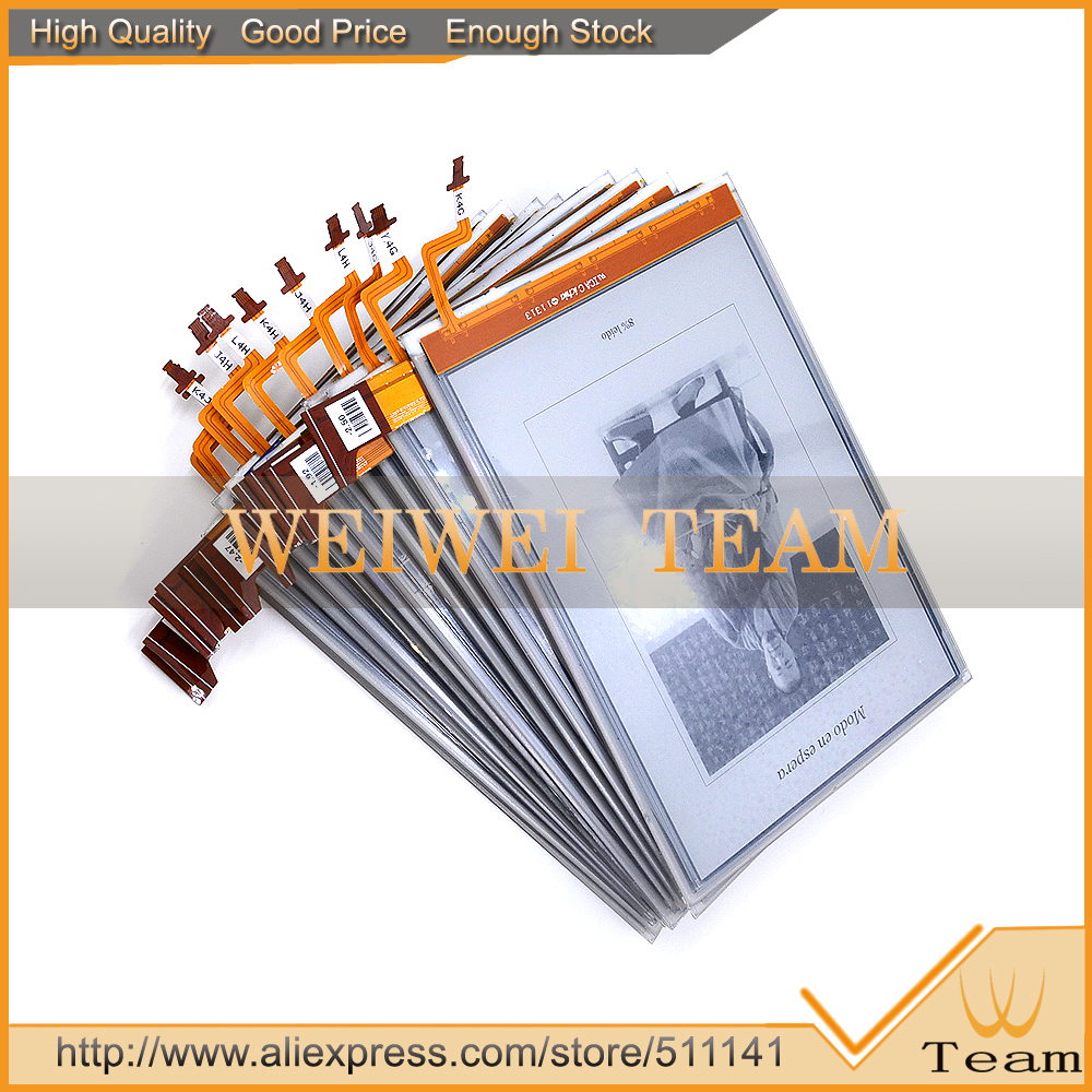 10 PCS/lot nouveau Original pour Kobo Glo lecteur Ebook eReader LCD affichage ED060XG1 (LF) T1-11 ED060XG1T1-11 768*1024 XGA perle écran