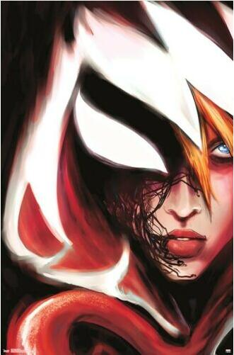 SPIDER-GWEN COMIC MARVEL SILK POSTER Decorative Wall paint 24x36inch image
