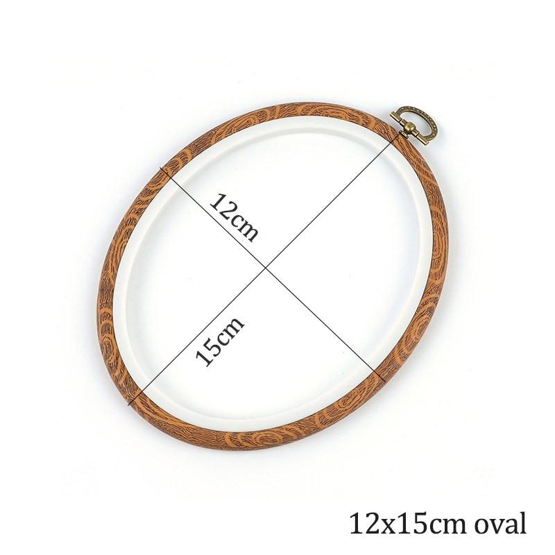 12x15cm oval