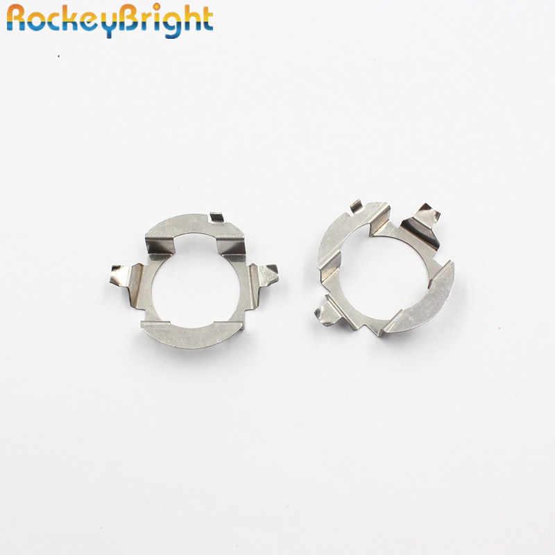 Rockeybright Car H7 LED Headlight Bulb Holder Adapter Lamp Base For Mercedes-Ben z E class/ML350 LED H7 Bulb Holder Adapters