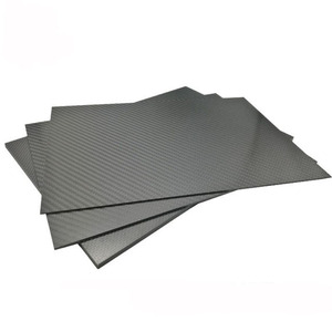 Image 4 - 3K Carbon Fiber Plate 200x250mm 100%Pure Carbon Board 1mm 2mm 3mm 4mm 5mm Thickness  Carbon Fiber Material For RC UAV/Toys