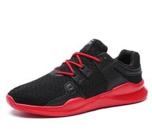 2018 мужские модные спортивные кеды мужские сетки кроссовки студентов спортивная обувь для бега