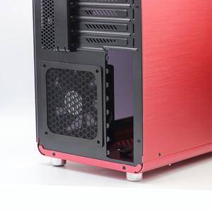 Image 4 - 새로운 뜨거운 3 pcs 140/120mm 크기 컴퓨터/pc 케이스 냉각 팬 자기 먼지 필터 방진 메쉬 팬 커버 그물 가드 12 cm/14 cm