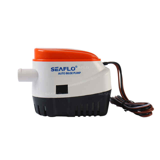SEAFLO Submersible Bilge Pump 750 GPH 12 V Water Pump Impeller Intermittent with Float Switch for Marine RV Boat