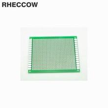 Rheccow 20 штук 7x9 см 7*9 см Стекло-эпокси FR-4 прототипов и монтажная панель припоя универсальная печатная плата