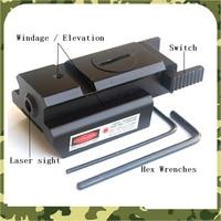 Tactical Red Dot Mini Red Laser Sight Scope cho Gun Rifle Pistol Quang Học Săn Bắn Laser Sight