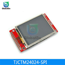 2.4 inch White LED Backlight Display Touch Module Sensor TFT LCD Serial Port 240RGB*320Dots Micro SD Card ILI9341