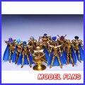 Clube de FÃS do MODELO MC Metal/S-modelo Templo de metal armadura de ouro saint seiya gemeos leo câncer virgo pisces escorpião Aquário