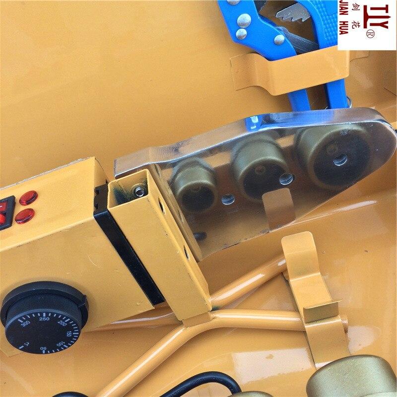 Высококлассный контроль температуры, PPR сварочный аппарат, AC 220 В 1500 Вт DN 20-63 мм машинка для сварки пластиковых труб