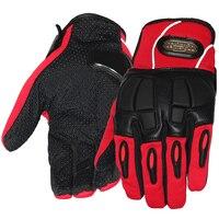 Pro Biker Motorcycle Gloves Full Finger Motorbike Motocross Soft Slip Hard Shell Buffer Design Protective Gear