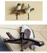 Space saving hangers with bird cuties.