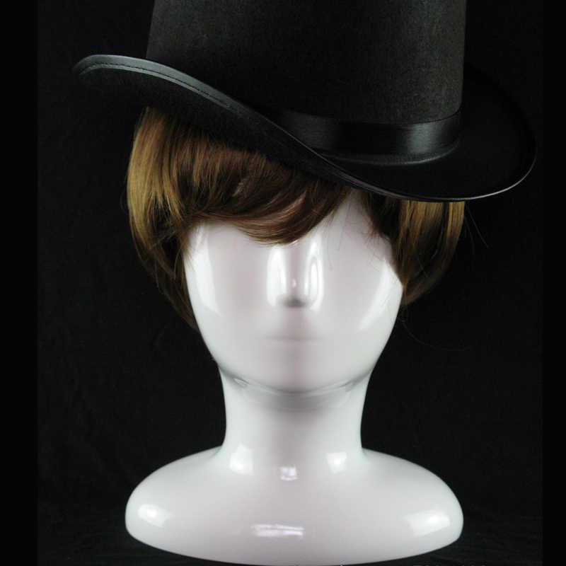 Абстрактный белый глянец манекен, голова манекена модель шляпа очки VR Дисплей манекен головы шляпу парик Дисплей стойки