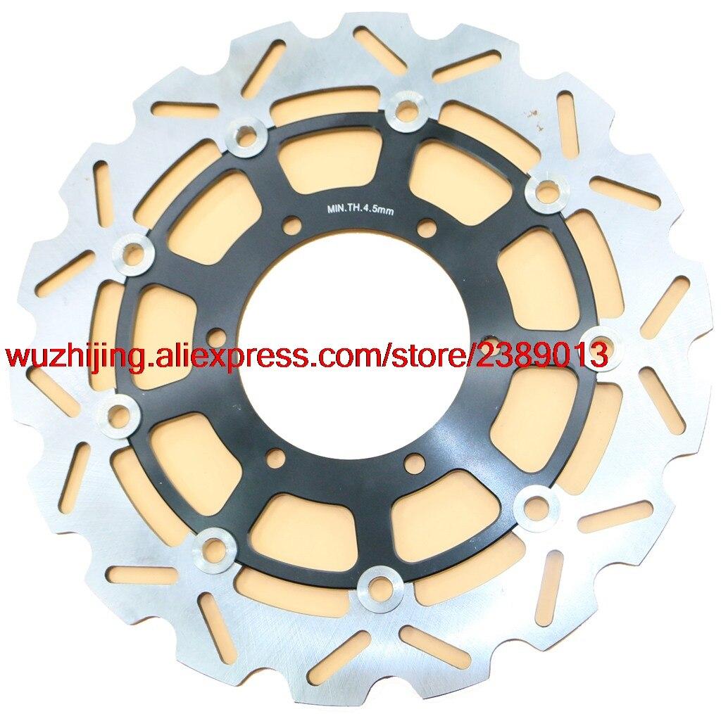 Тормозной диск ротора Fit Suzuki GSX1000R GSX-R1000 GSXR1000 GSXR GSX-R GSX R 1000 2009-2014 2010 2011 2012 2013 09 10 11 12 13 14