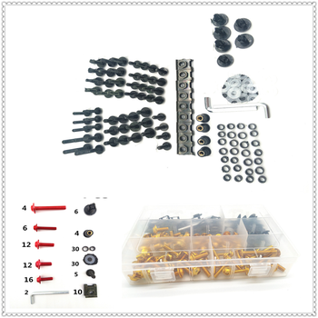 Motorcycle CNC Body Bolt bolts nut Kit Screws set Nuts Screw For YAMAHA TIGER 1050 SpoRt 1200 EXPLORER 800 XC XCX XR XRX image