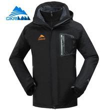 New Arrive 3in1 Windproof Waterproof Camping Hiking Winter Outdoor Jacket Men Skiing Climbing Coat Trekking Jaqueta Masculina