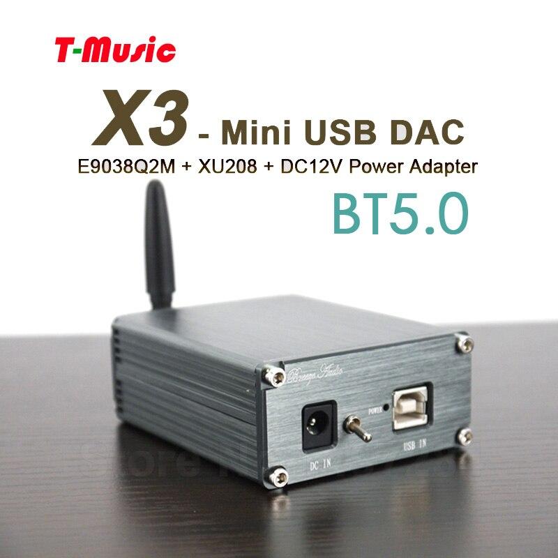 Unterhaltungselektronik Power Adapter EntrüCkung Mini Hifi Bluetooth 5,0 Dac Es9038q2m Xmos Xu208 Usb Dac Decoder W/3,5mm Kopfhörer Ausgang