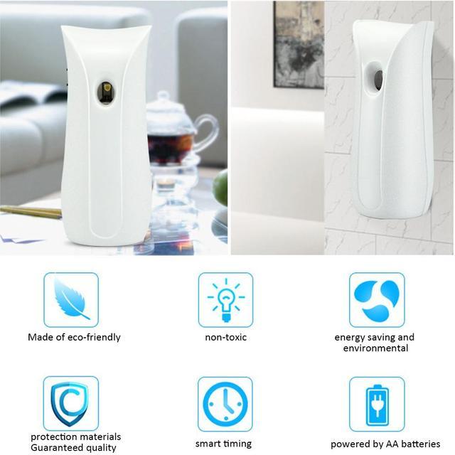 Vaporisateur automatique | Petit diffuseur darôme domestique pour chambre à coucher toilettes salle de bain déodorant arôme diffuseur parfum