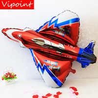 VIPOINT PARTY 91x87 CM warplane kämpfer folie luftballons hochzeit event weihnachten halloween festival geburtstag party PD-120