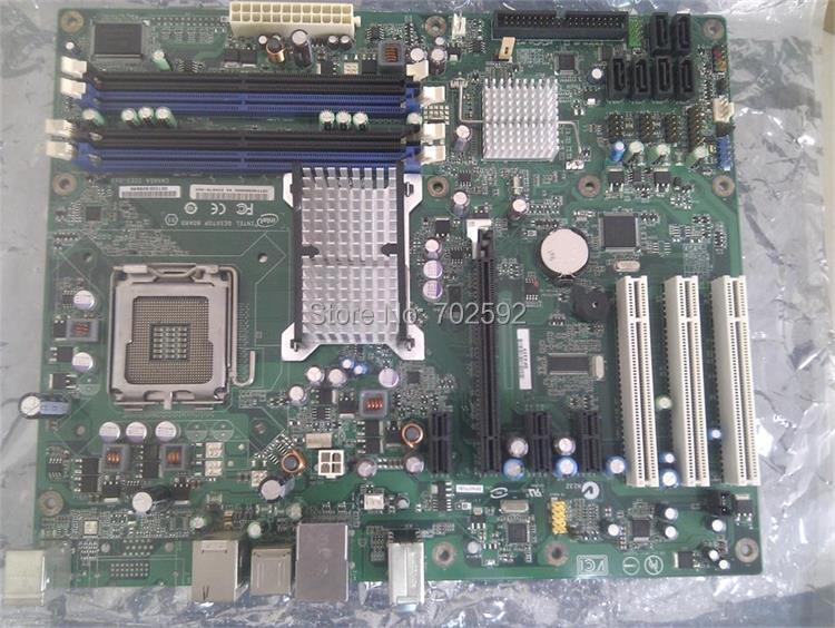 Original Desktop Motherboard dp43tf p43 support 775 series