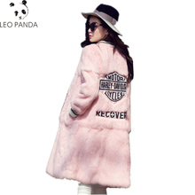 2019 New High Quality Real Rabbit Fur Jacket Winter Long