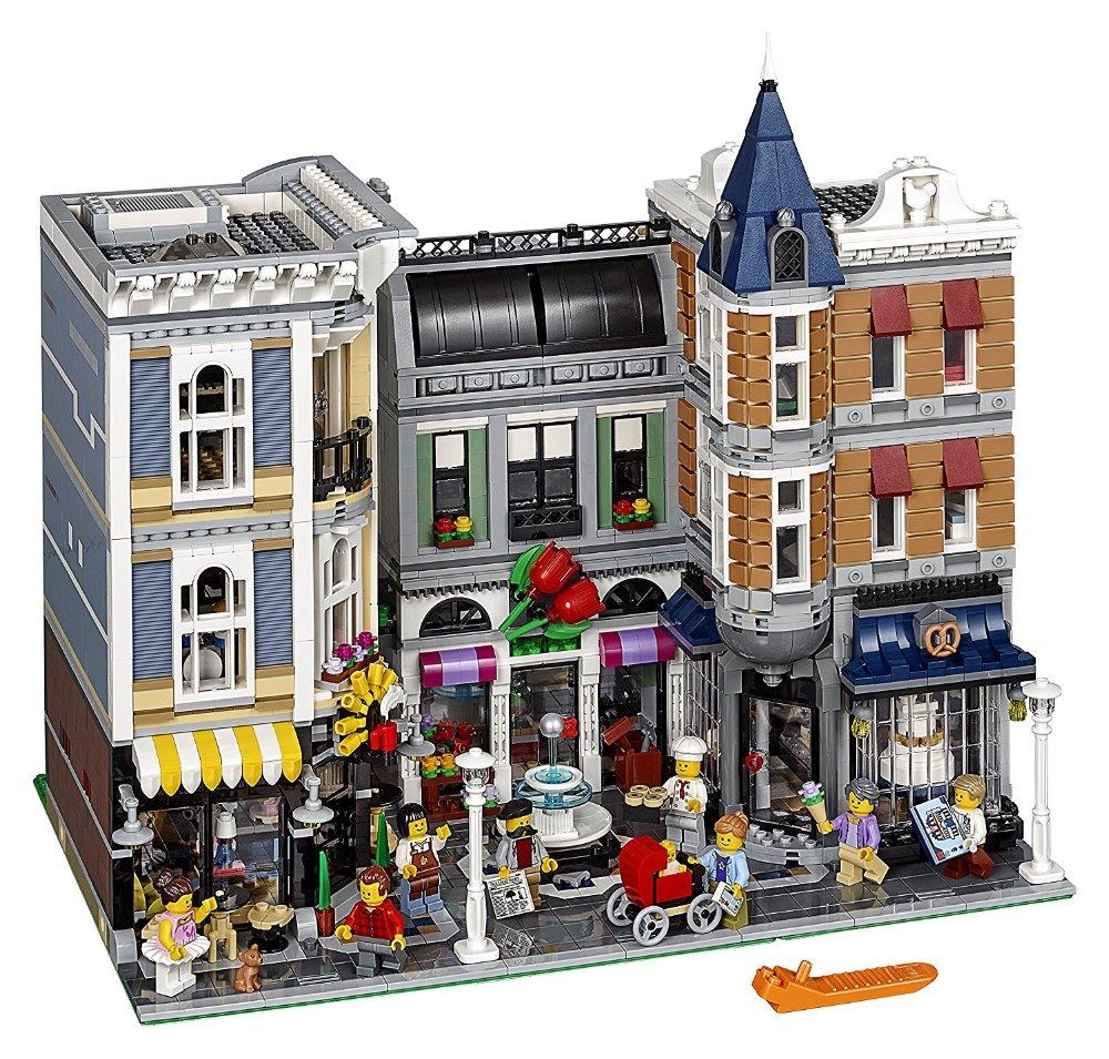 Lepin 15019 4002pcs MOC Creative Series The Assembly Square Set Building Blocks Bricks Toys Small piece block 10255 loymina обои loymina 4002 laс4 002