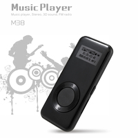 Benjie Mini Lossless Music MP3 Player 8GB Memory with FM Radio Voice Recorder SD Card Slot Portable Audio Player MP3
