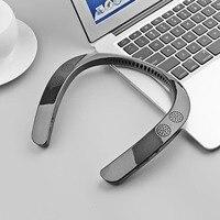 SOONHUA Version 5.0 Wearable Neckband Wireless Stereo Ear Headphone Personal Speaker Bluetooth Speaker MP3 Palyer Headset