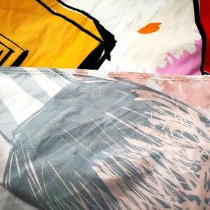 Image 5 - In kỹ thuật số Dòng Túi Đựng Chăn Màn Pillowcace Chăn Ga Gối Chăn Mền Thoải Mái Bao Đơn Đôi Nữ Hoàng Vua Tùy Chỉnh #/J
