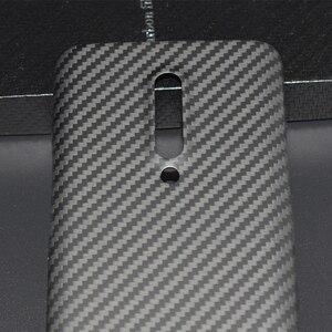 Image 3 - ENMOV ريال ألياف الكربون الحال بالنسبة OnePlus 7 برو كيفلر ماتي حماية ل One Plus 7 برو غطاء حماية إطارات دراجة تسلق الجبال خفيفة الوزن رقيقة