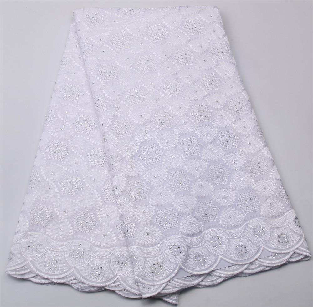 2017 Graceful Cotton Nigeria Kleidung Schweizer Voilespitze - Kunst, Handwerk und Nähen - Foto 1