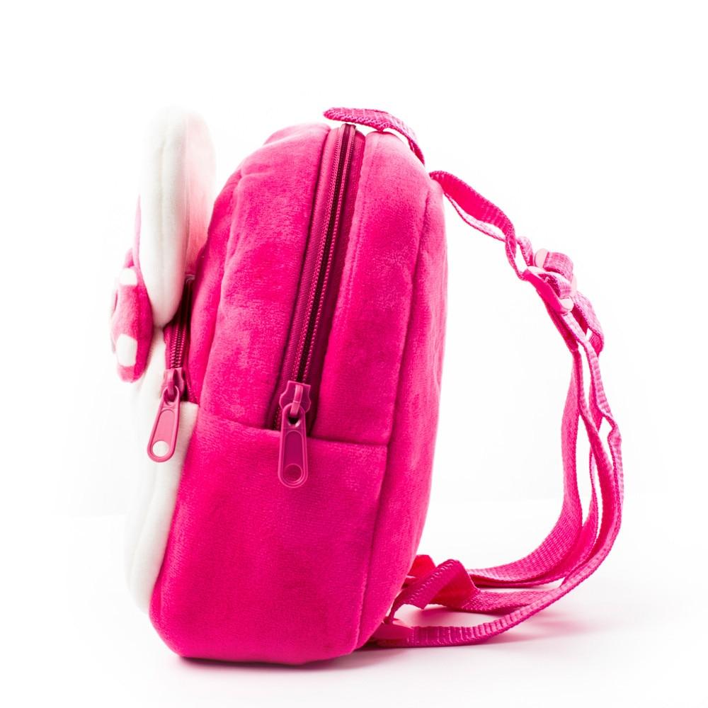 be81c0f036fe 2017 Lightweight Plush Cartoon Kids 3D Backpack Kindergarten Rabbit School  Bags for Girls Boys Baby Child Cute Mochila Infantil-in School Bags from  Luggage ...