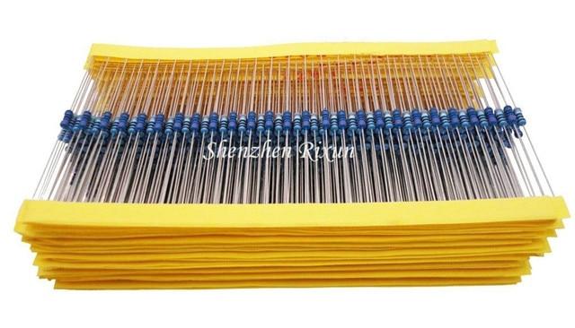 Best Price 100pcs resistor pack 10k ohm 1/4W 10k Metal Film Resistor 10kohm 0.25W 1% For Arduino UNO 2560 R3 Kit Free Shipping