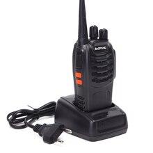 Baofeng BF 888S mini walkie talkie Radio przenośne cb Radio BF888s 16CH UHF Comunicador nadajnik nadajnik/odbiornik szynki Two Way Radio